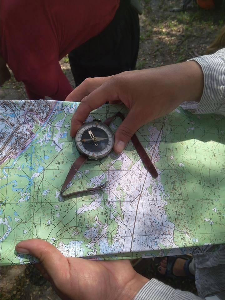 Квест-поход 25-26 мая 2019г. Самарский лес